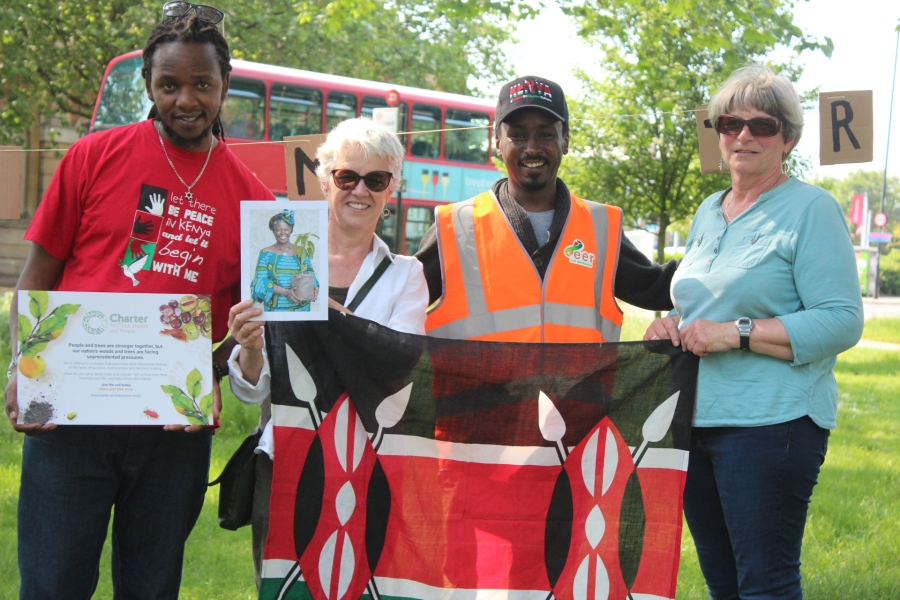 Tottenham Trees celebrate Wangari Maathai and the Tree Charter with EER