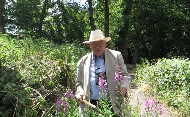 David Bevan in Coldfall Wood