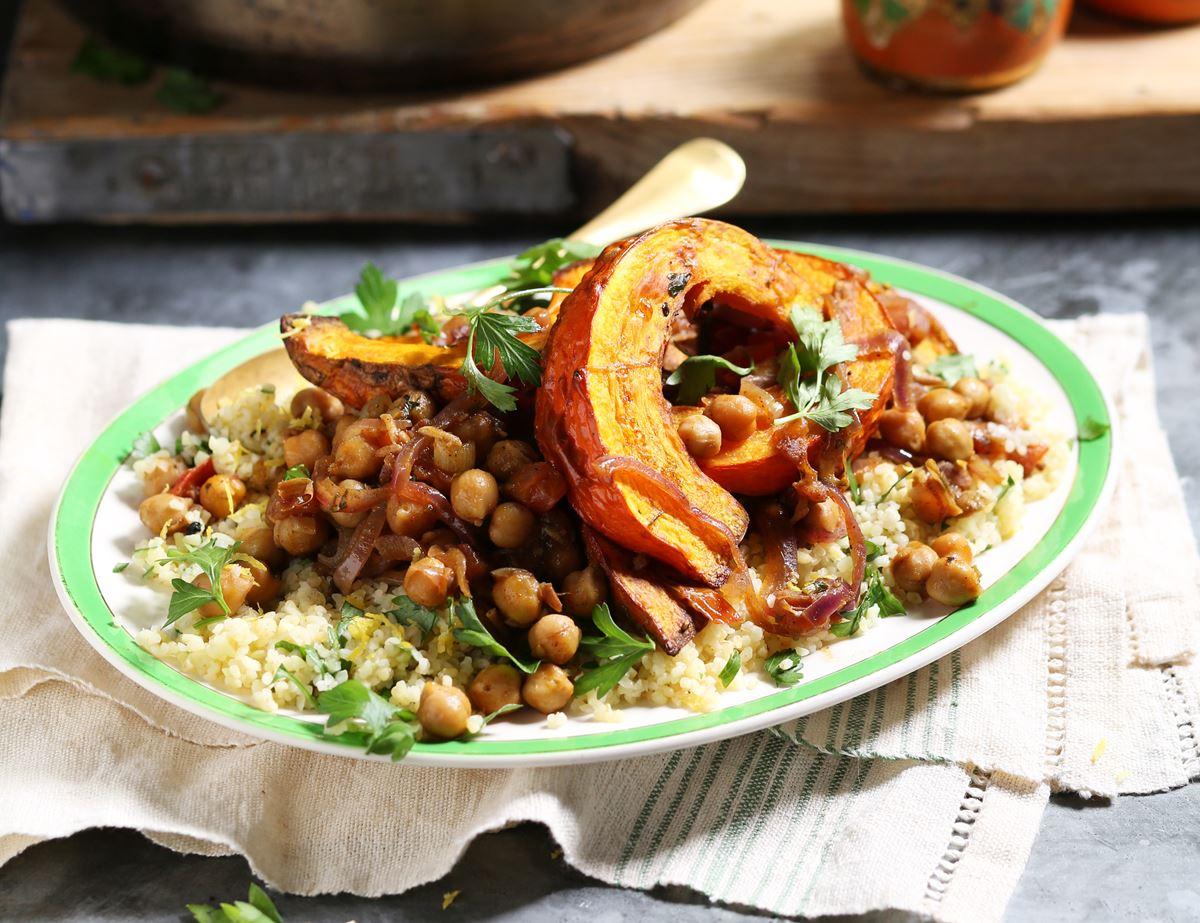 Moroccan Onion Squash Stew